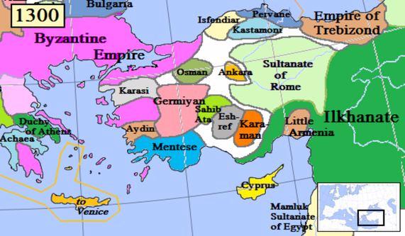 Anatolia at 1300s