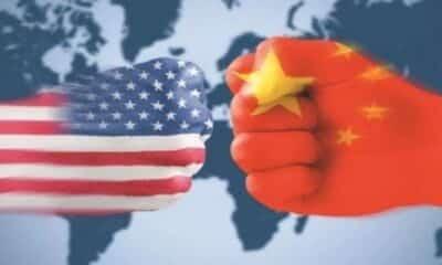 TENSION BETWEEN CHINA AND USA